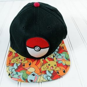 Pokemon original snapback hat